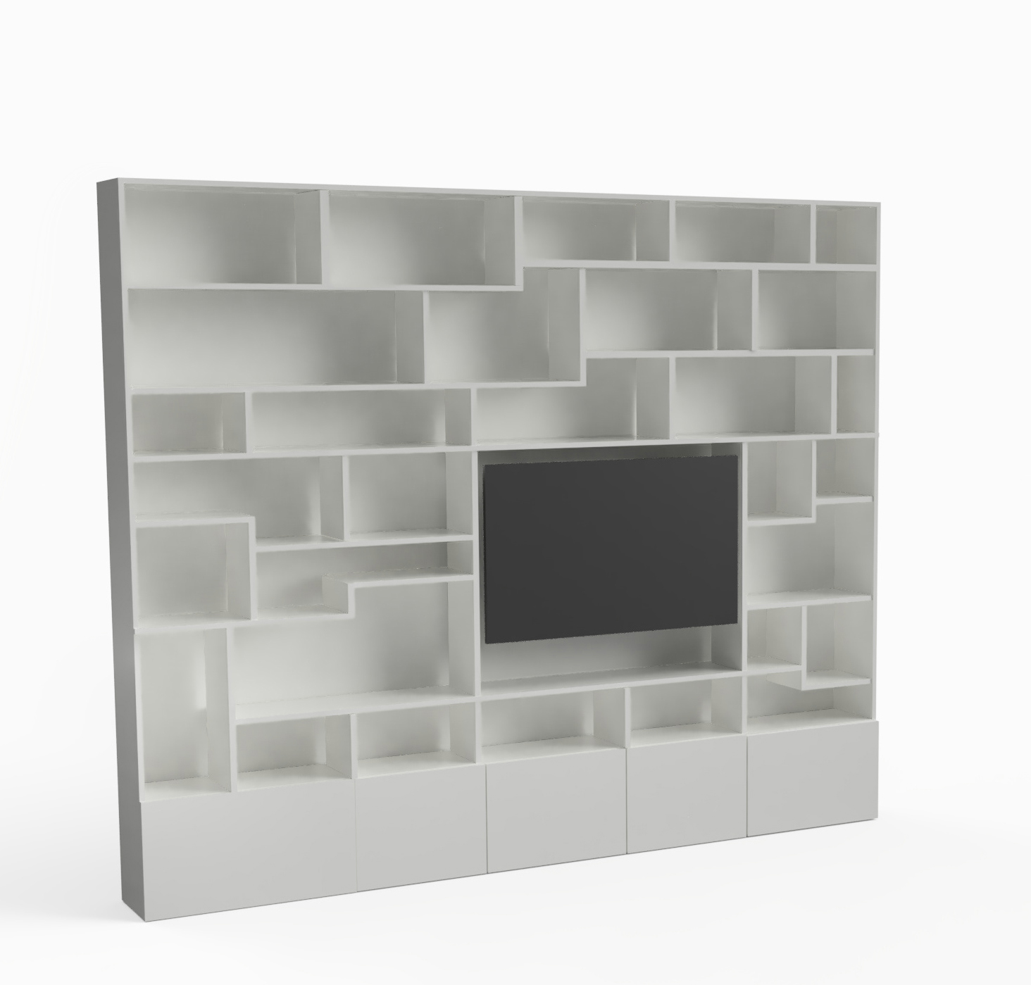 Bookshelf³ Cubed